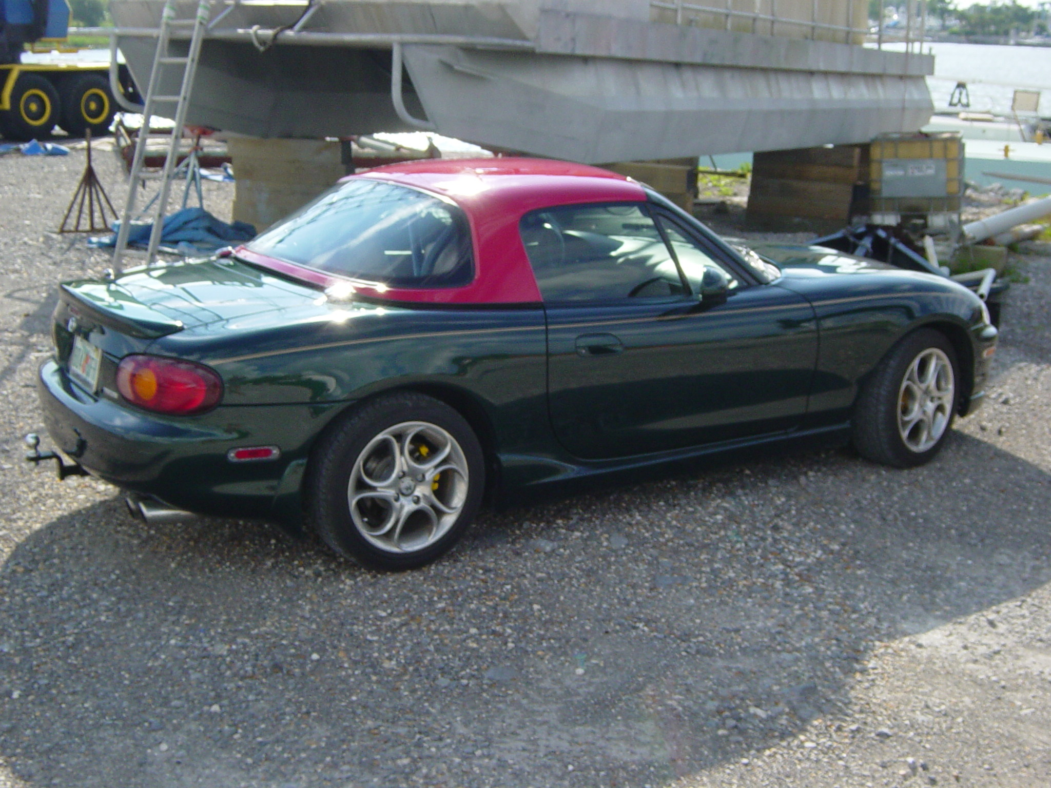 redstack 39 s 1999 mazda miata mx 5 in pensacola fl. Black Bedroom Furniture Sets. Home Design Ideas