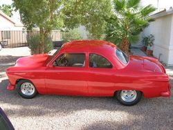 russerts 1949 Ford Coupe