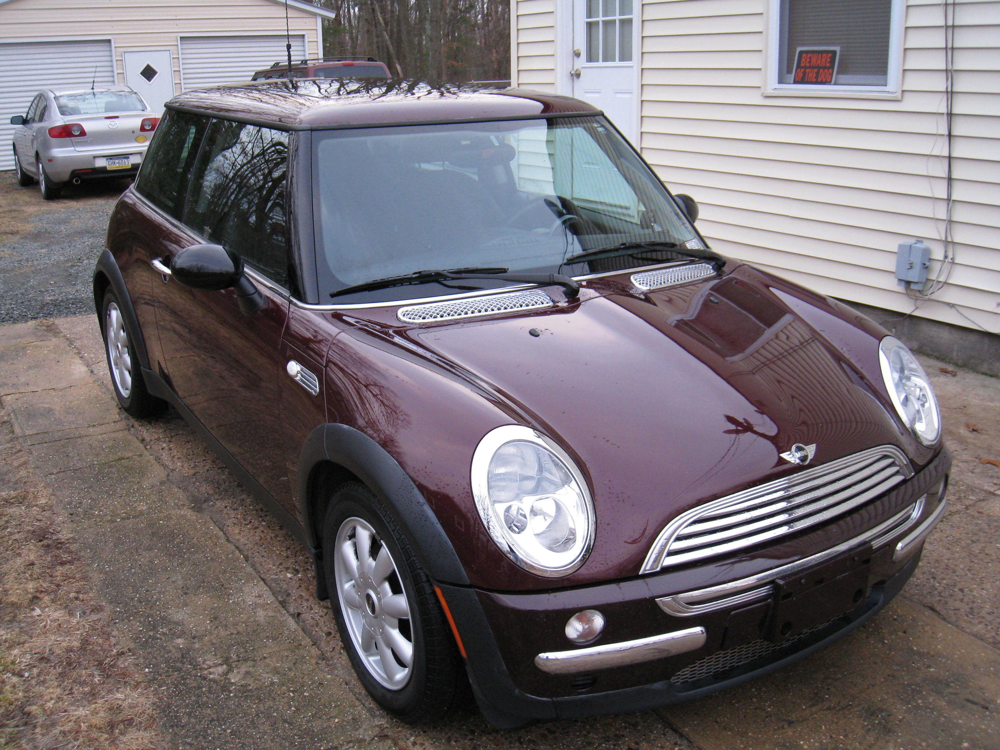 kc10boomer 2003 mini cooper specs photos modification info at cardomain. Black Bedroom Furniture Sets. Home Design Ideas