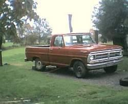 bigpiercedfreak 1972 Ford F150 Regular Cab