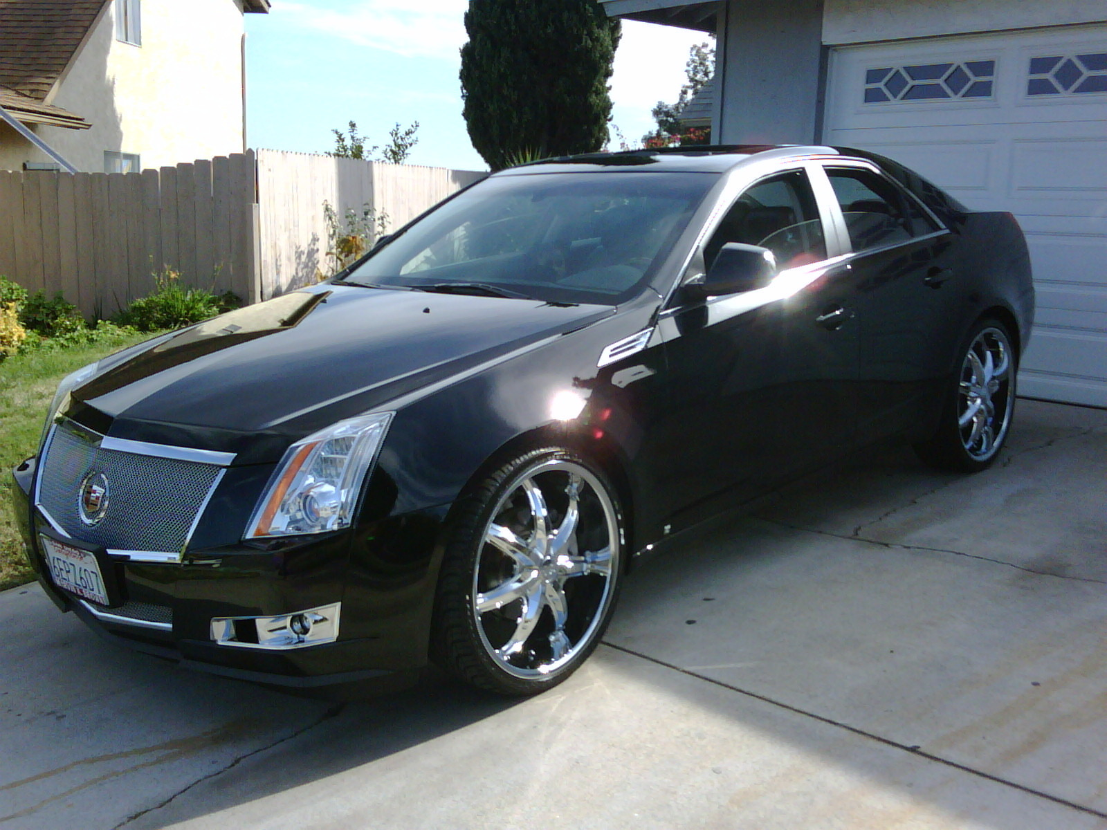 leebo73 2009 cadillac cts specs photos modification info. Black Bedroom Furniture Sets. Home Design Ideas