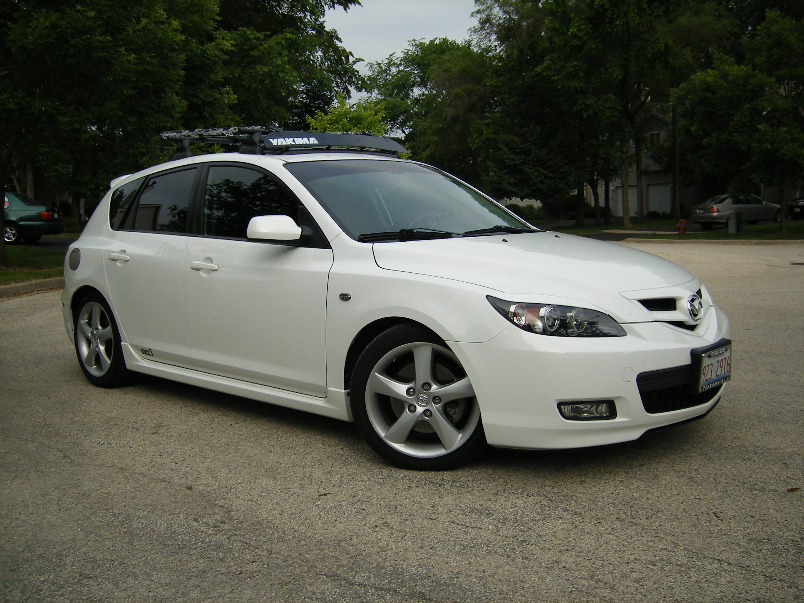 sncc3 39 s 2008 mazda mazda3 s grand touring hatchback 4d in joliet il. Black Bedroom Furniture Sets. Home Design Ideas