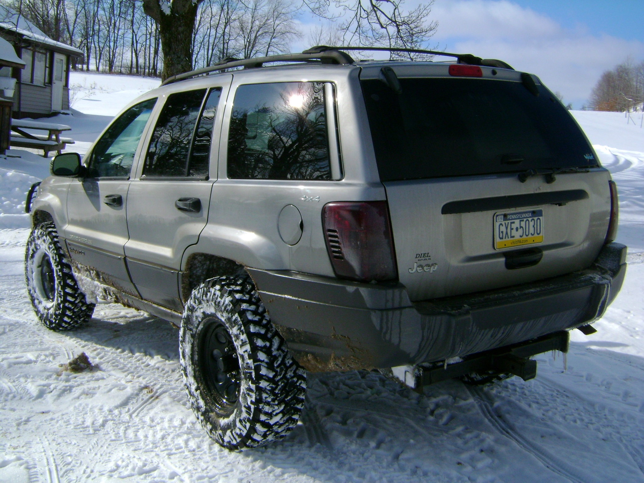 five ohh 2001 jeep grand cherokee specs photos modification info at cardomain. Black Bedroom Furniture Sets. Home Design Ideas