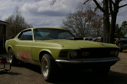 jxhowells 1970 Ford Mustang