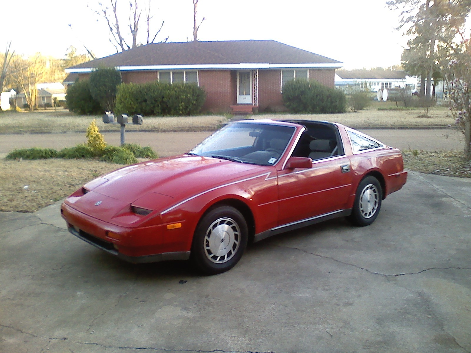 picture of 1987 nissan 300zx. Black Bedroom Furniture Sets. Home Design Ideas