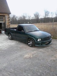 sleepinS10s 1997 Chevrolet S10 Regular Cab