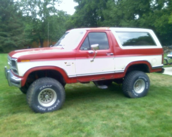 eddieon22s 1986 ford bronco specs photos modification. Black Bedroom Furniture Sets. Home Design Ideas