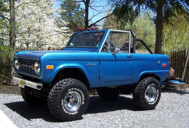 Raging56 1975 Ford Bronco 32466280010 Original