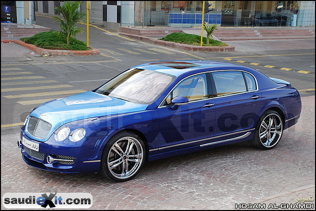 Another Saudiexit 2008 Bentley Continental Flying Spur Post