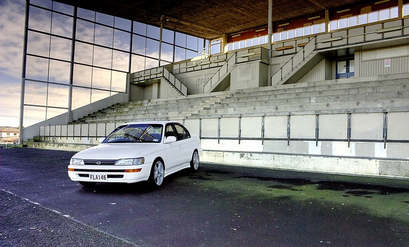 My 93' Corolla From New Zealand (AE100 JDM) - 32469770127 large