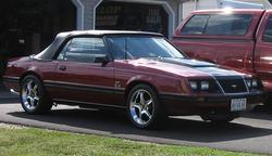 red83gtconvs 1983 Ford Mustang