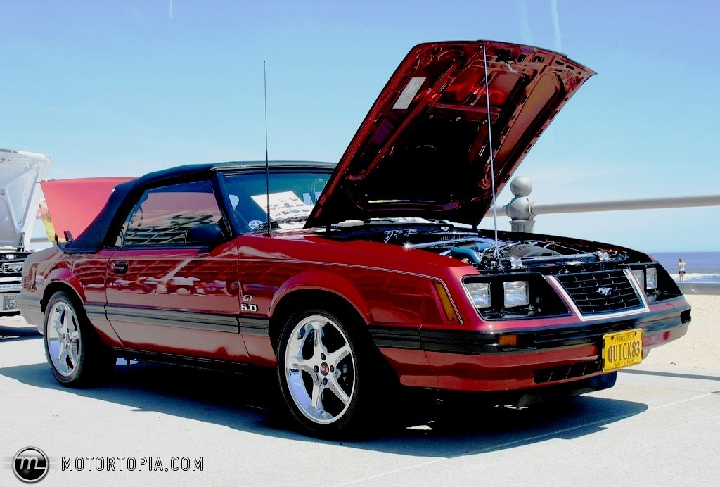 red83gtconv 1983 ford mustang specs photos modification. Black Bedroom Furniture Sets. Home Design Ideas