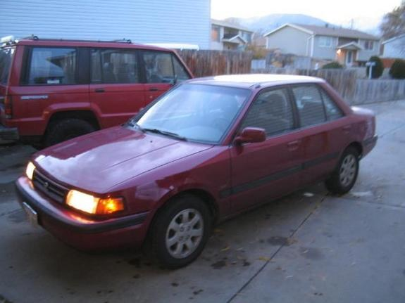 burgundylx 39 s 1993 mazda protege in salt lake ut. Black Bedroom Furniture Sets. Home Design Ideas