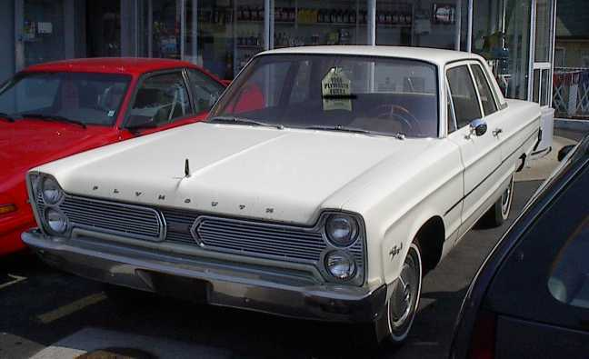 Humanracing 1966 Plymouth Fury 12688310