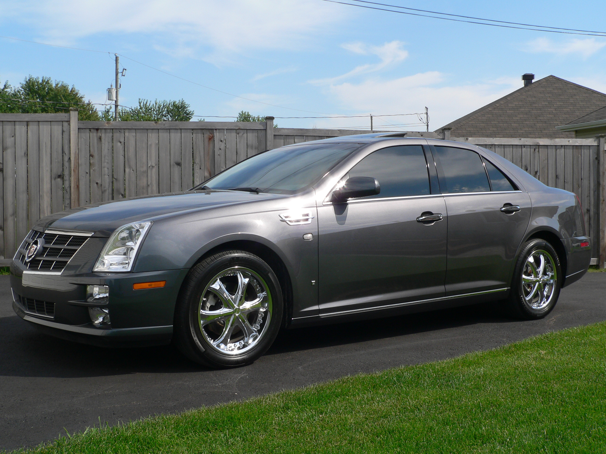 stscritic 2008 cadillac sts specs photos modification. Black Bedroom Furniture Sets. Home Design Ideas