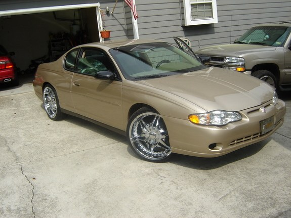 2004 Monte Carlo on 22u0027s with the mirror tent. 7 inch in-dash & Another willie_lump_lump 2004 Chevrolet Monte Carlo post...4223983 ...