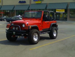 redjeeptimmys 1997 Jeep Wrangler