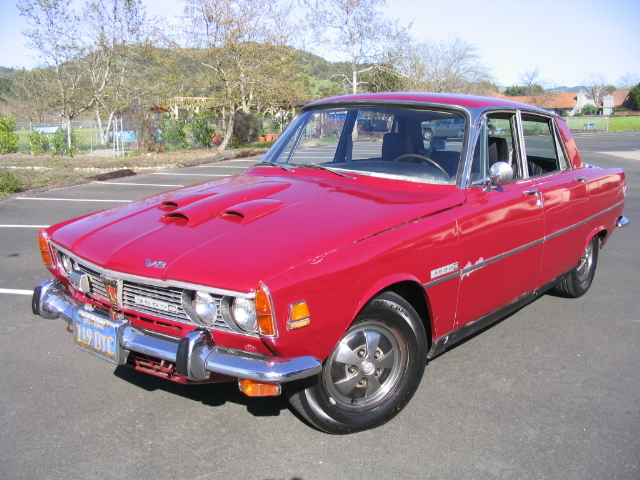 Another leftcoastclassic 1970 Rover 2000 post... - 12703535