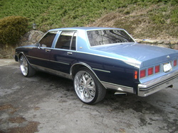 85blueonbluechevs 1985 Chevrolet Caprice