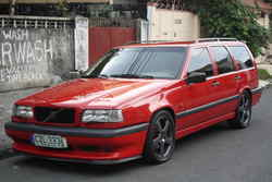 redrumt5s 1996 Volvo 850