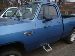 SteelGrey 1985 Dodge Power Ram