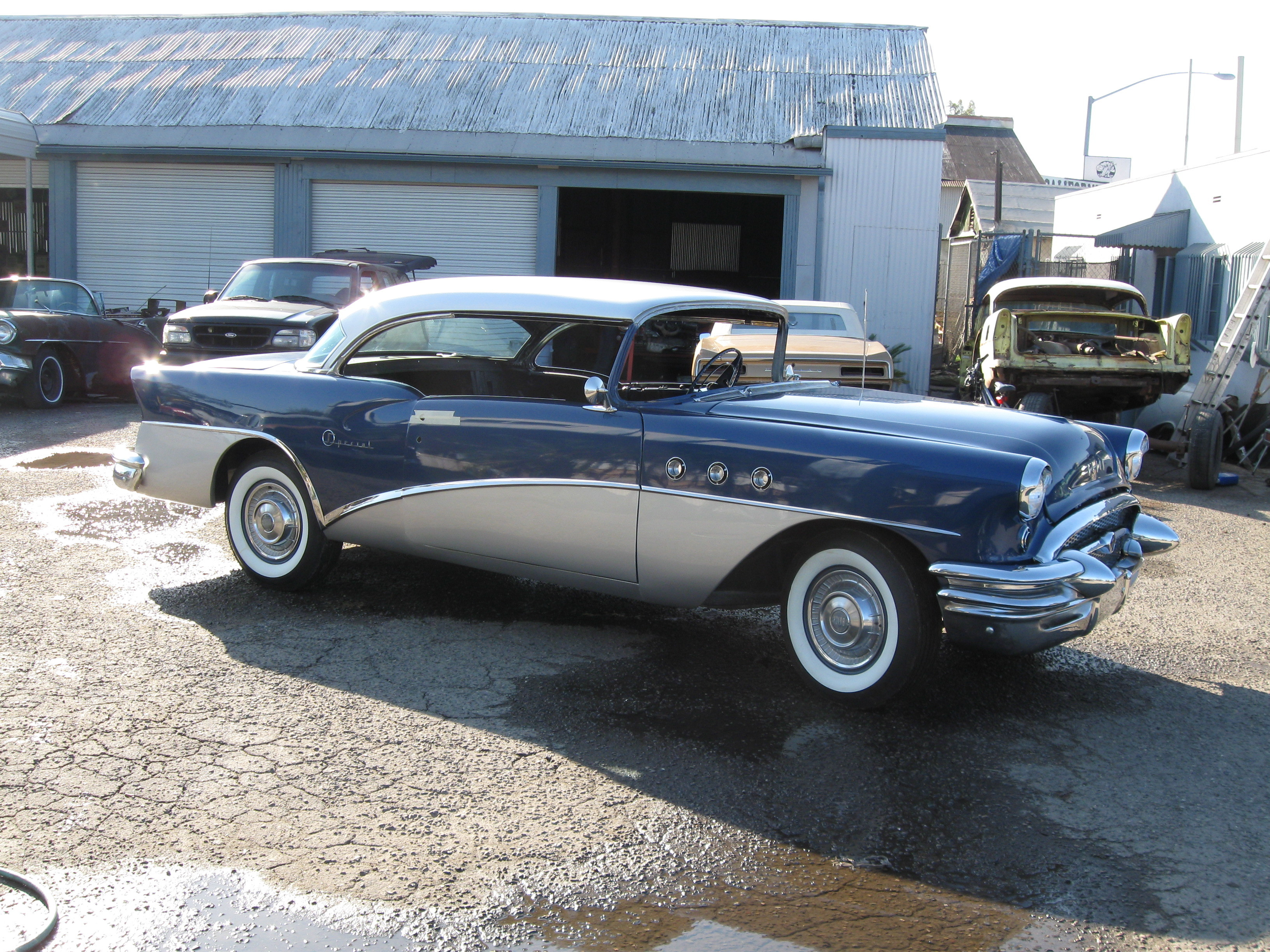 Jeep 4 Door buickgal 1955 Buick Special Specs, Photos, Modification ...
