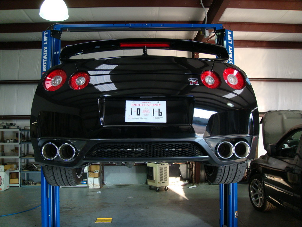 Another MurderedOutKing 2009 Nissan GT-R post... - 12716162