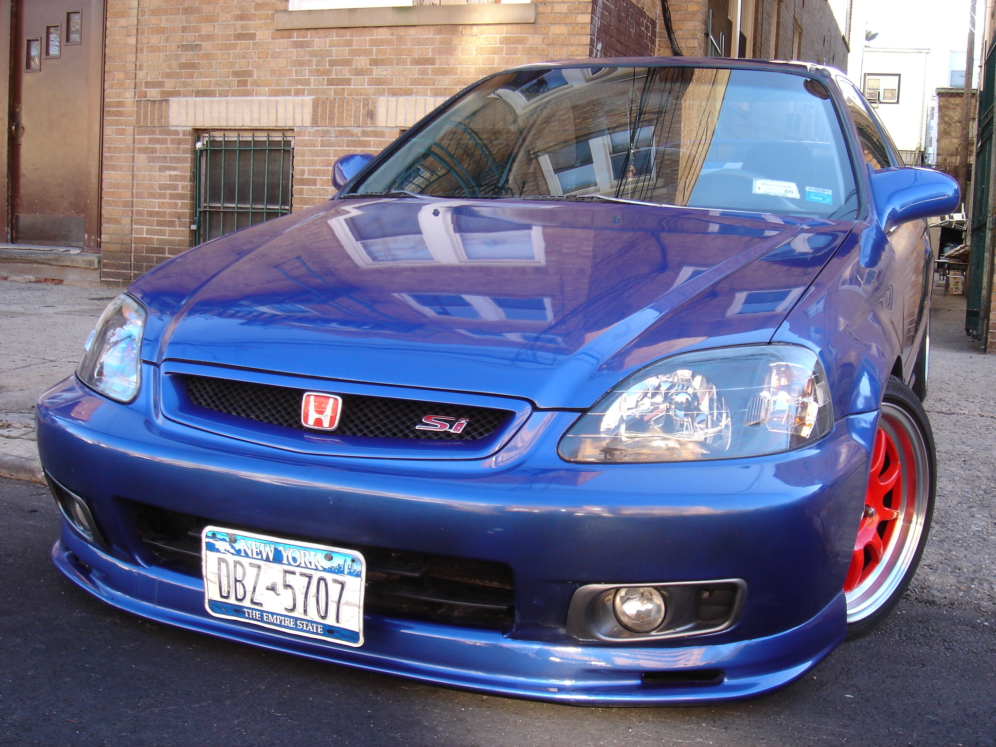 features tuning carbon civic kevlar si magazine hood honda