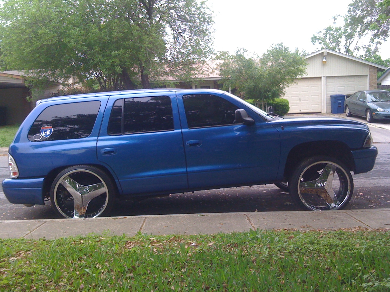 BAGGED210 2001 Dodge Durango 12722771