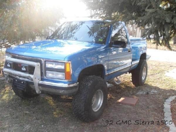 custombuick98 1992 gmc sierra 1500 regular cab specs photos modification info at cardomain cardomain