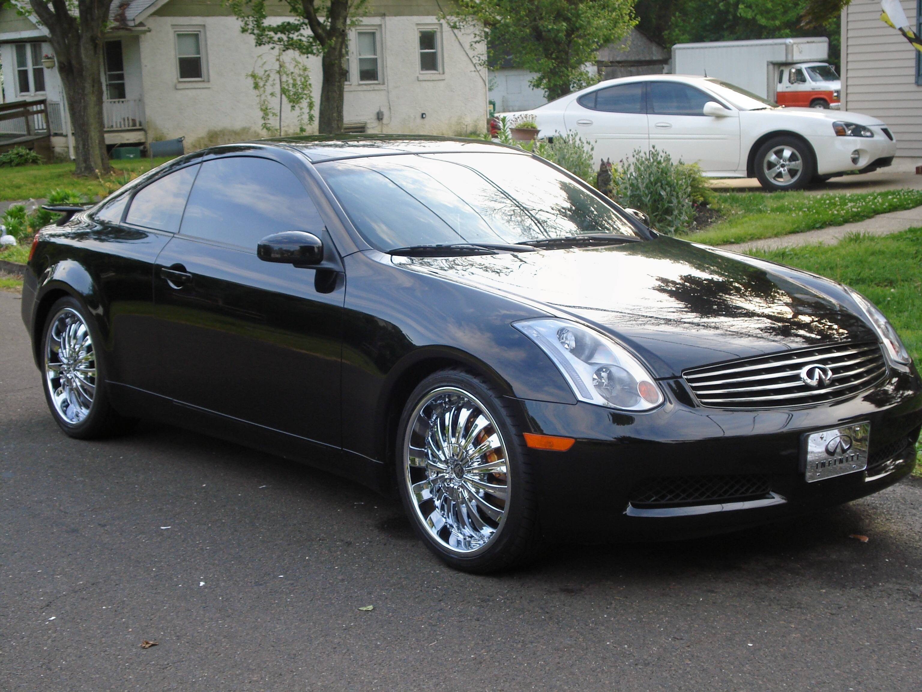 Bose Car Speakers >> G35-Black-Coupe 2003 Infiniti G Specs, Photos ...