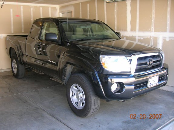 Another blacked-out-toy 2005 Toyota Tacoma Xtra Cab post... - 9510466