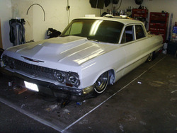 just-fn-bag-its 1963 Chevrolet Impala