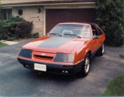 ltbeachs 1986 Mercury Capri