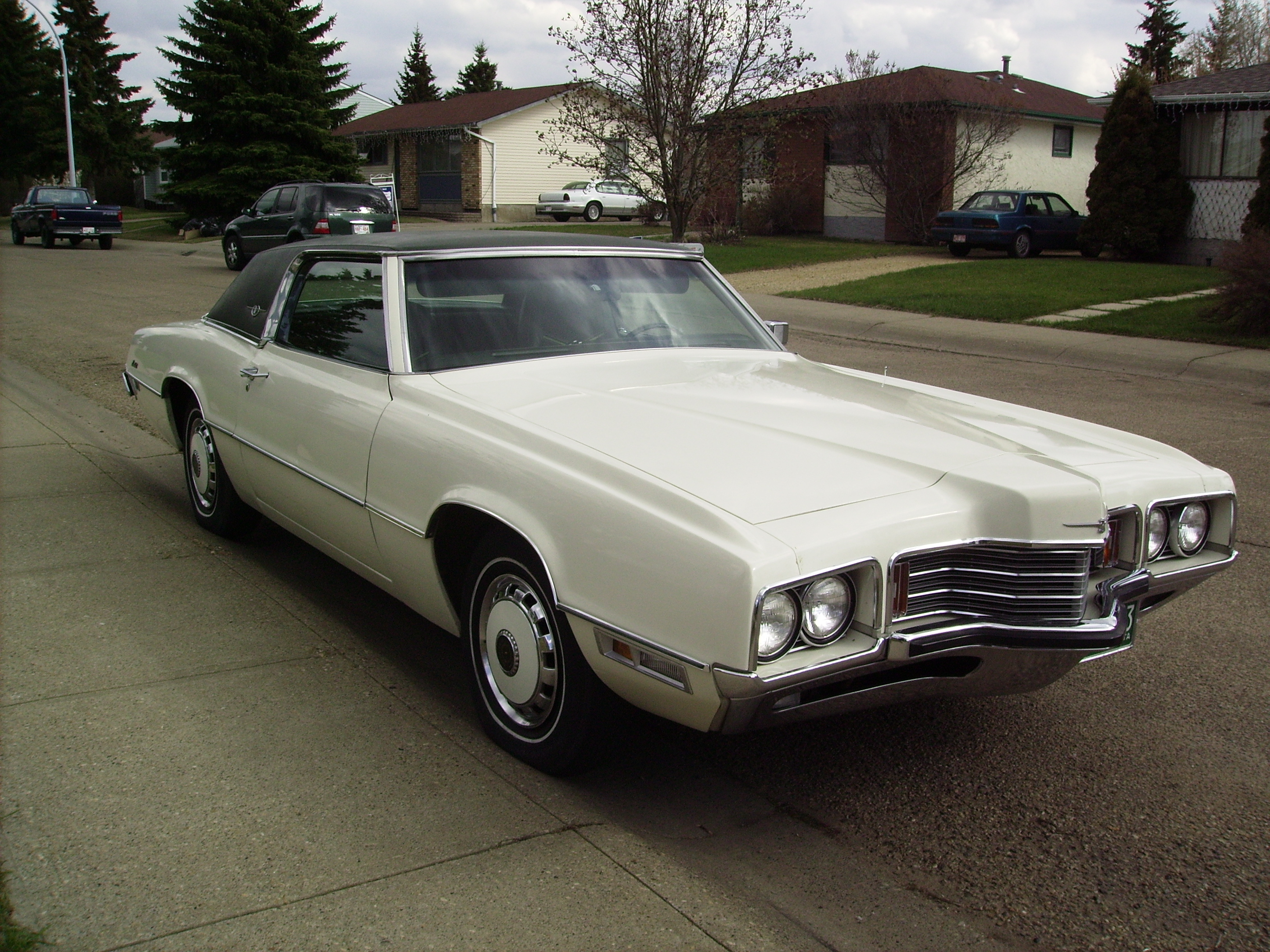 1971 Ford Thunderbird for sale with test drive, driving sounds ...