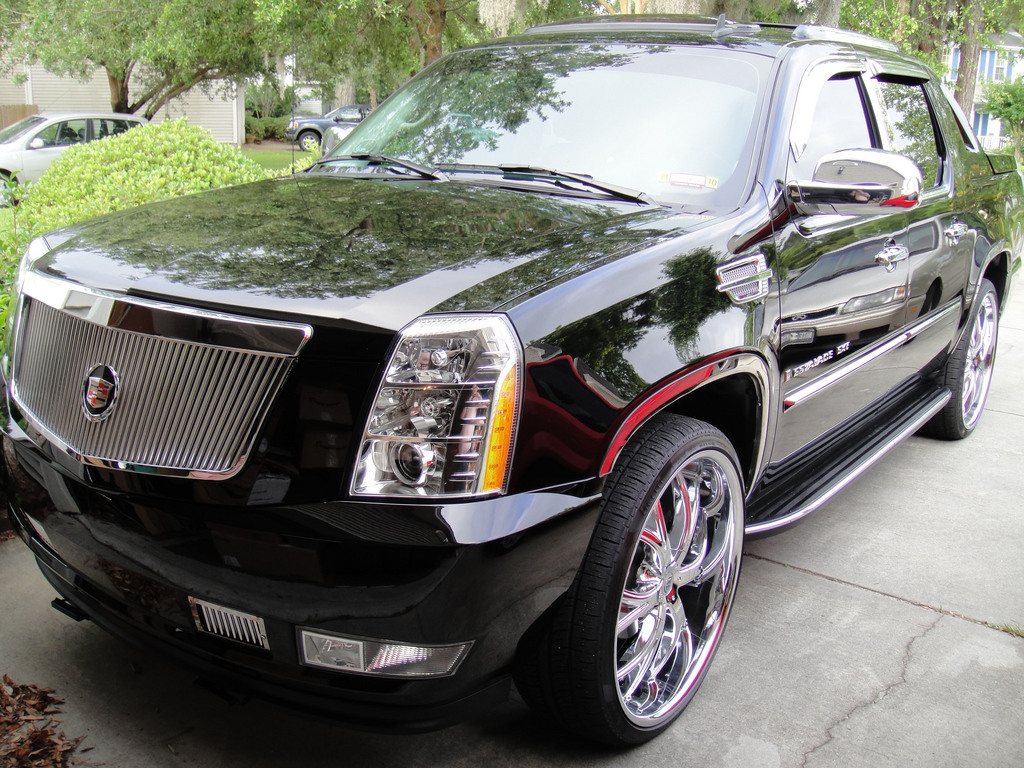 bleachboy2k1 2008 cadillac escalade ext specs photos. Black Bedroom Furniture Sets. Home Design Ideas