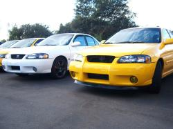 03YellowB15s 2003 Nissan Sentra