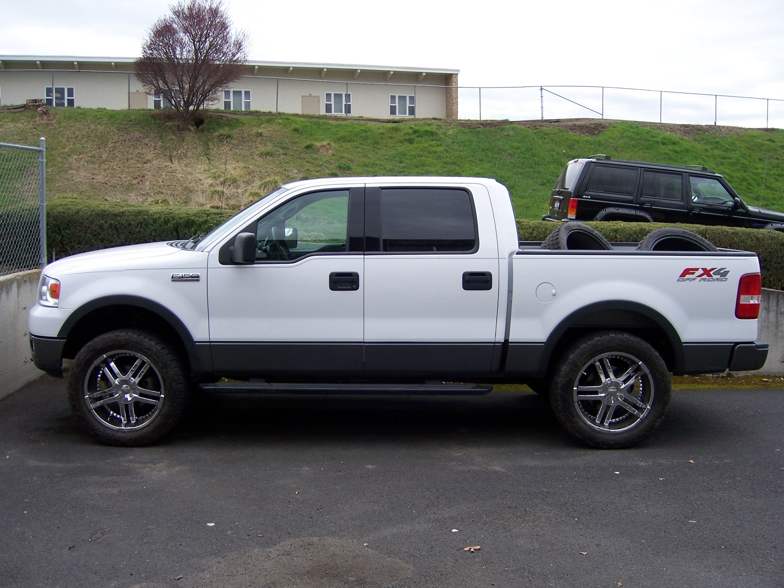 817gabe 2004 ford f150 regular cab specs photos modification info at cardomain. Black Bedroom Furniture Sets. Home Design Ideas