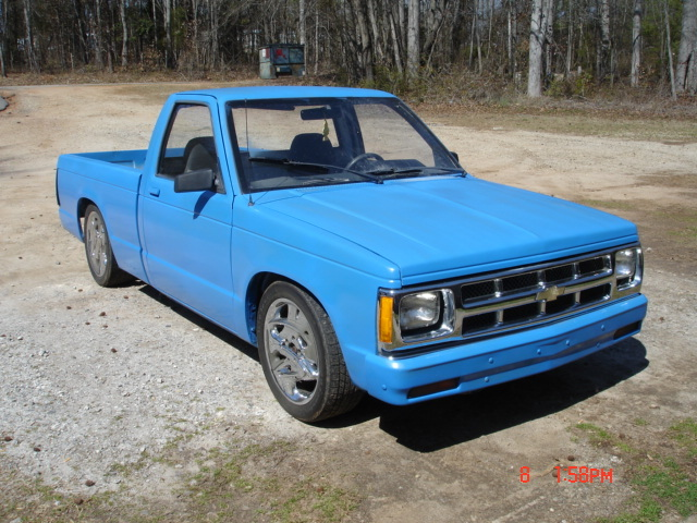 ChillinHonda 1989 Chevrolet S10 Regular Cab 12786100