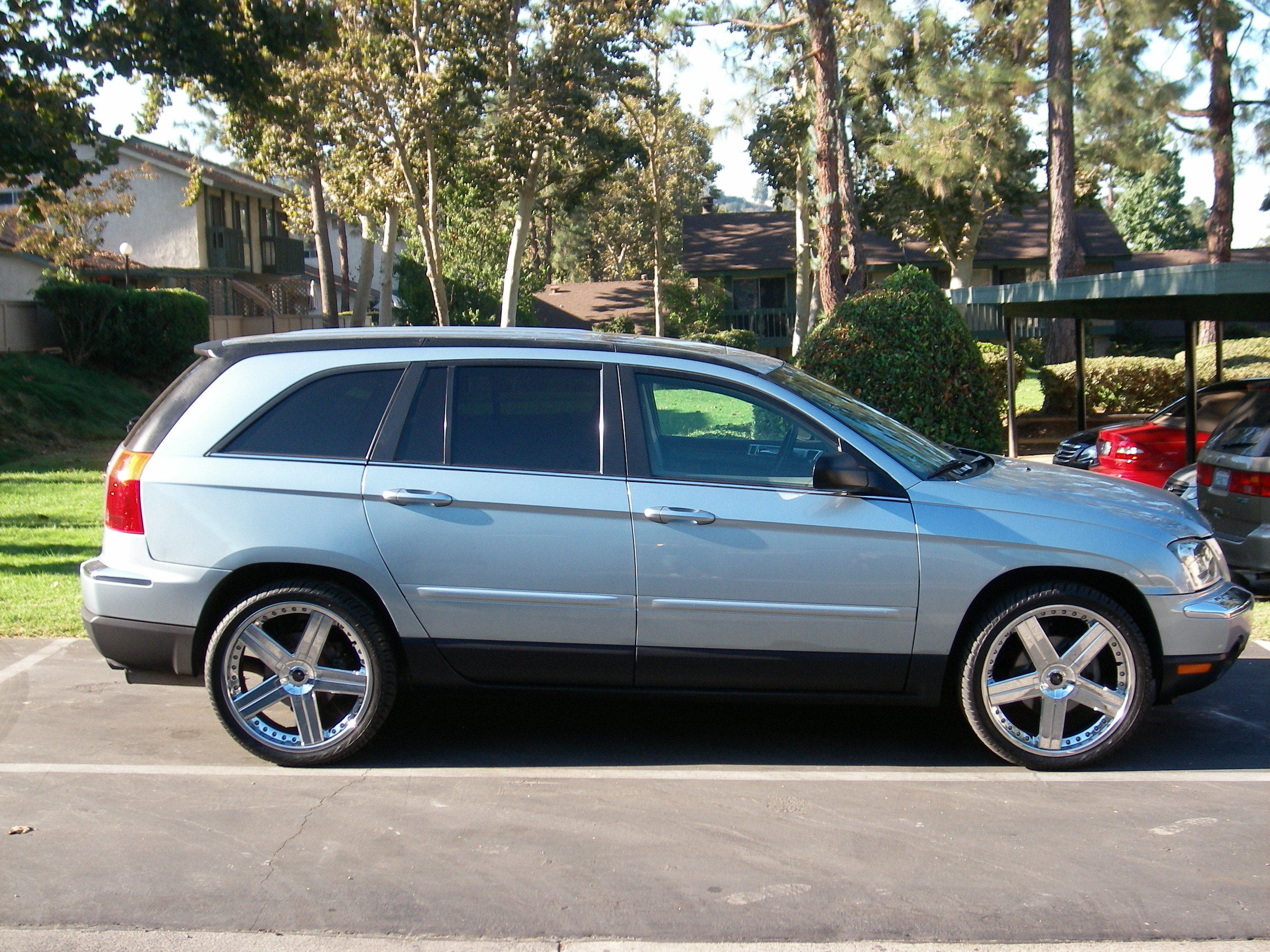 michaeljr23 2004 chrysler pacifica specs photos modification info at. Cars Review. Best American Auto & Cars Review