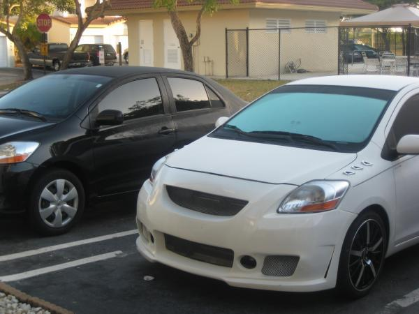 giobatera 39 s 2007 toyota yaris in coral springs fl. Black Bedroom Furniture Sets. Home Design Ideas