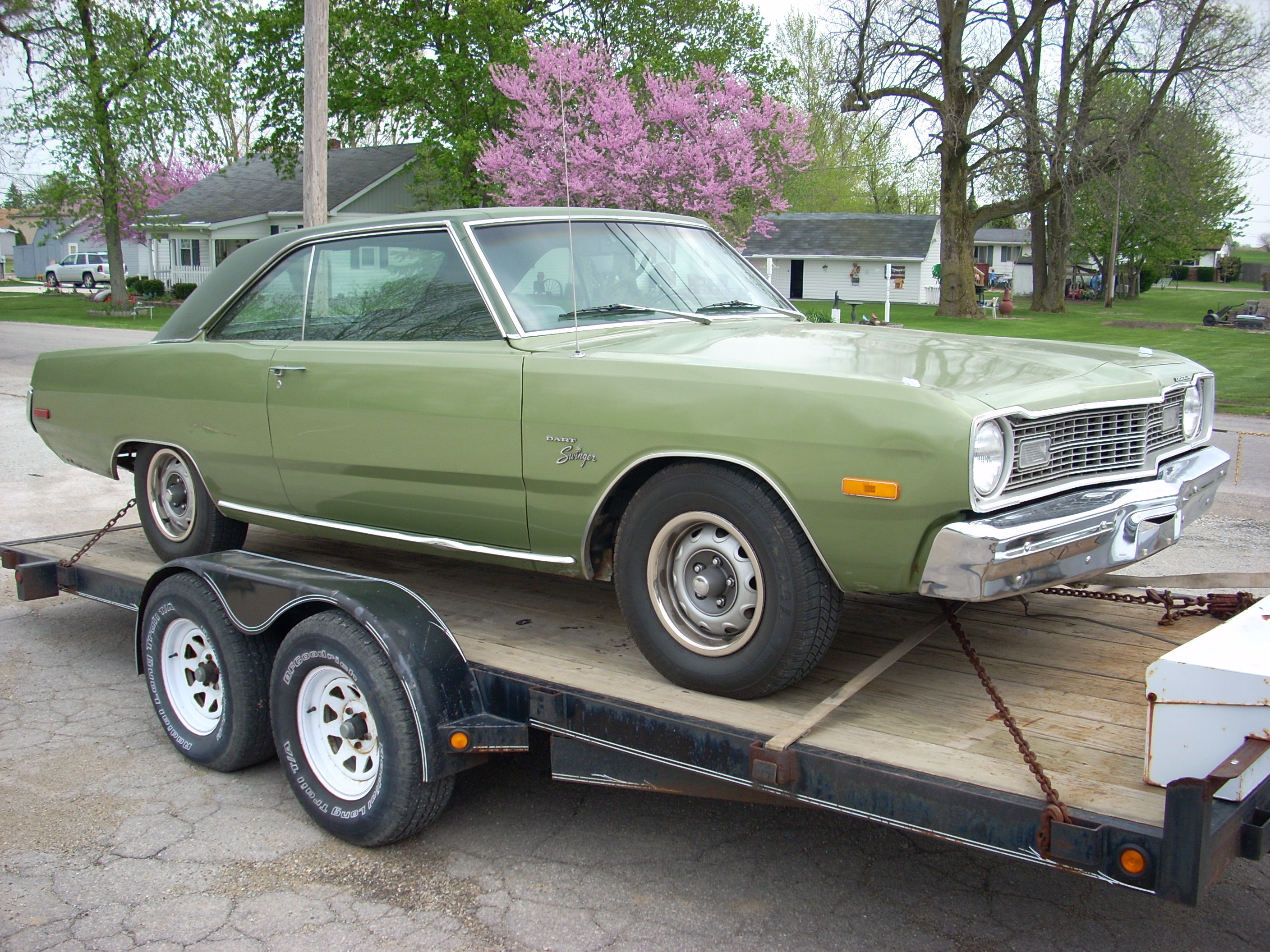 1973 dodge dart swinger design what that
