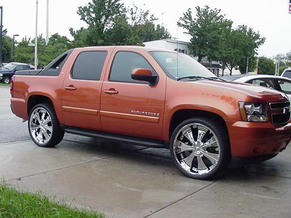 nolimitinc 39 s 2007 chevrolet avalanche in baltimore md. Black Bedroom Furniture Sets. Home Design Ideas