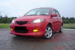 red_hot_bubble 2005 Mazda Mazda2
