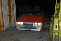 86-5speed 1986 Chrysler Laser