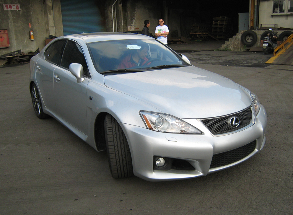 Vaness Garge 2008 Lexus IS F 12798307
