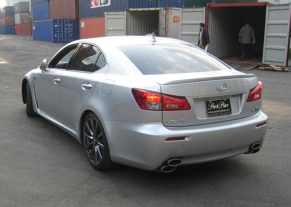 Vaness Garge 2008 Lexus IS F 12798312