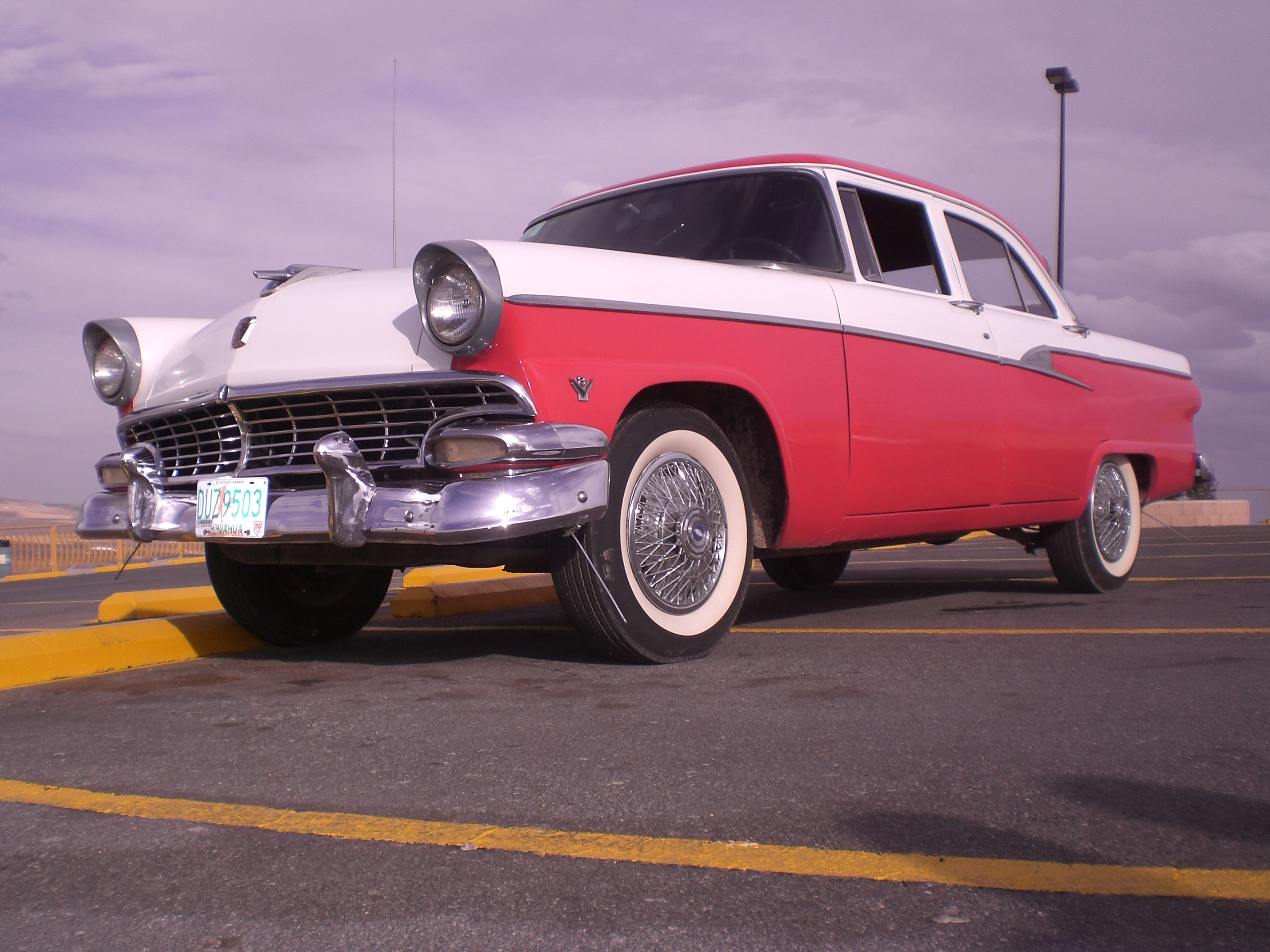 hdi street tuners 1956 ford fairlane specs photos. Black Bedroom Furniture Sets. Home Design Ideas