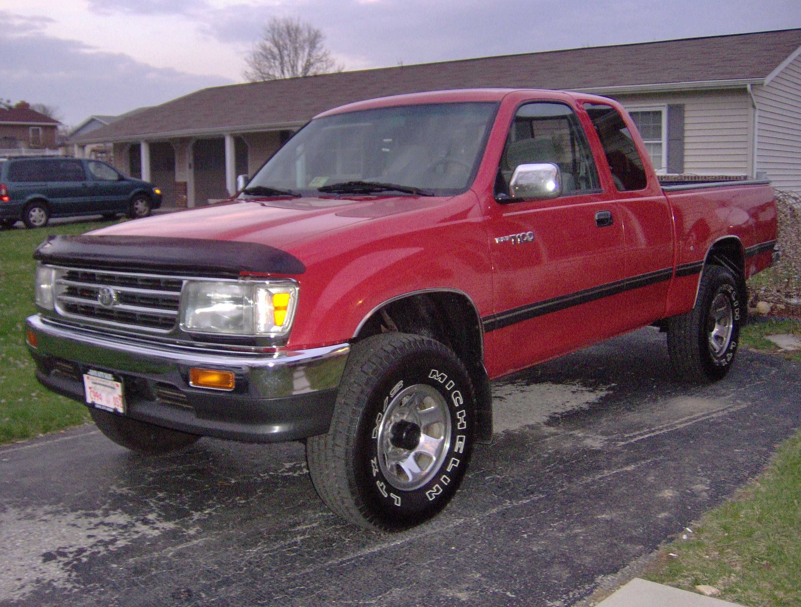 Offroadt10048 1995 Toyota T100 Specs  Photos  Modification