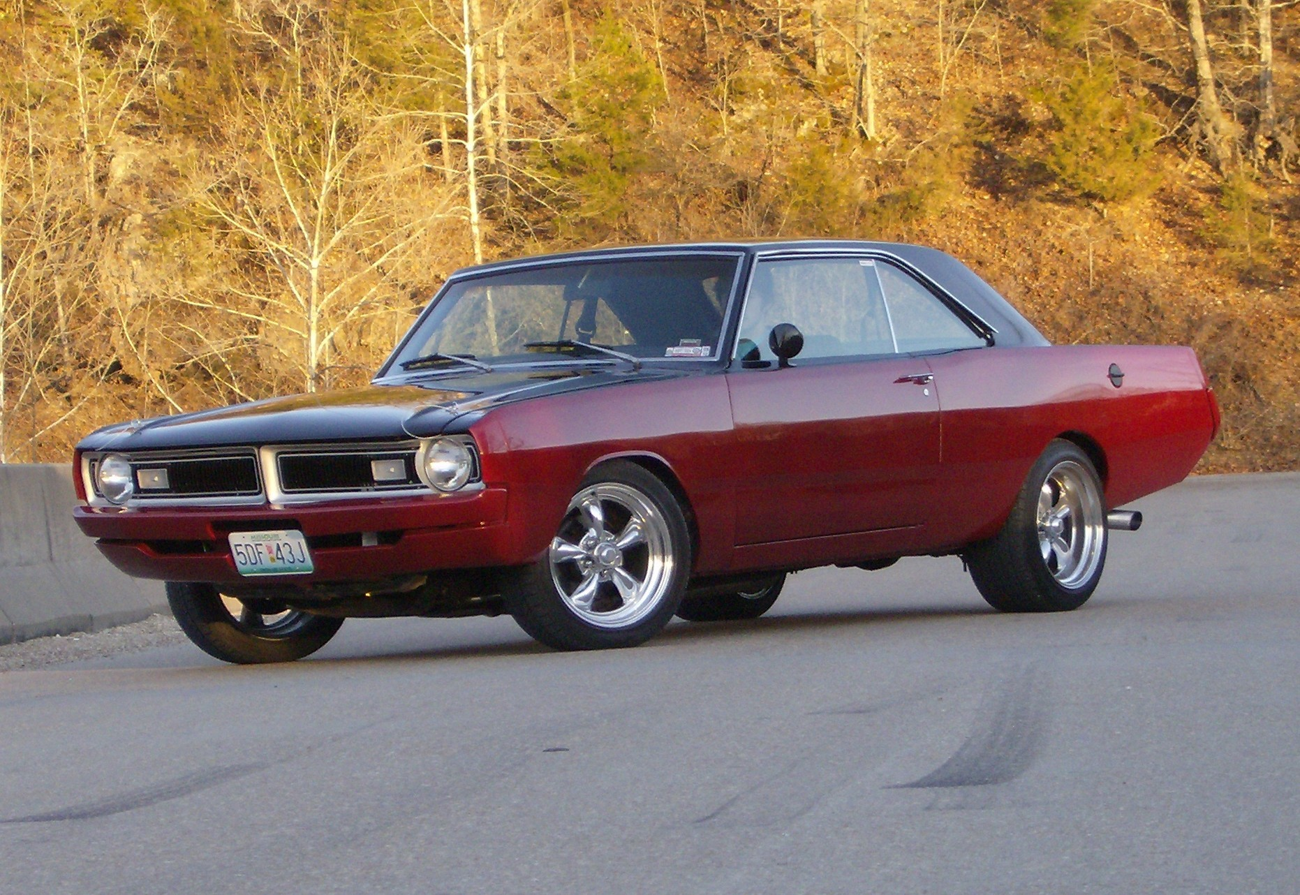 1971 dodge dart custom - photo #12